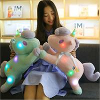 Wholesale Retail Plush Doll - `Retail Wholesale Unicorn Doll Doll Plush Toy Animal Animal Pony Twin Girl Pillow Free shipping