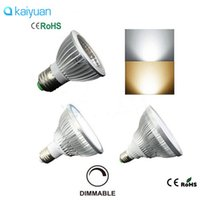 Wholesale Downlight 36w - ultra bright Dimmable Led bulb spotlight par38 par30 par20 12W 24W 36W E27 par 20 30 38 LED cob Lighting SpotLamp lights downlight