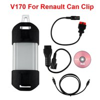 Wholesale Clip Diagnostic - New update V170 version FOR Renault CAN Clip car Diagnostic Interface for Renault car diagnostic tools OBD2 vehicle tools
