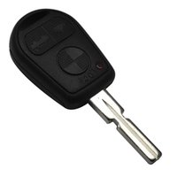 3 Button Remote Uncut Blade Auto Schlüssel Fall Shell Styling Fall für BMW E31 E32 E34 E36 E38 E39 E46 Z3 Fob Uncut Key Case