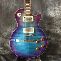 Wholesale Ems Electric Guitars - hot sell Vicers best quality EMS Free Shipping guitar, electric guitar blue