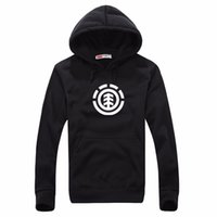 Wholesale Long Sleeve Diy - Autumn winter jacket Europe and the United States the new tide hooded fleece wholesale outdoor sports skateboard Running fleece DIY hoodies