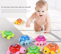 Wholesale Baby Pull Up Toys - Animal Clockwork Tortoise Baby Turtles Toys Infant Crawling Wind Up Toy, No Pressure