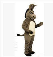 Wholesale Mascot Costumes Donkey - mascot costumes for adults christmas Halloween Outfit Fancy Dress Suit Free Shipping horse donkey unicorn