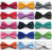 45 black bowties - High Quality New style Fashion Man and Women printing Bow Ties Neckwear children bowties Wedding Bow Tie