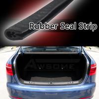 "Wholesale Truck Rubber Seal - rubber seal 600cm 240"" Flexible Black Rubber Seal pillar Car Van Boat Truck Door Edge Trim Protector Guard Strip Water Noise"