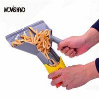 Wholesale Fry Scoop - Comerical Plastic Chips Scoop Food French Fries Shovel Handle Fry Scoop
