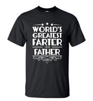 Wholesale Green Slogans - Camping T-Shirts Funny Slogan World's Greatest Father Men's T-shirt Summer Casual Short Sleeve Hip Hop T Shirt mens O-neck Streetwear Tops