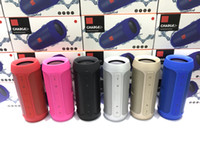 Wholesale Wholesale Sound Cards - Speakers Bluetooth Subwoofer Speaker Wireless Bluetooth Mini Speaker Charge 2+ Deep Subwoofer Stereo Portable Speakers Free Shipping DHL