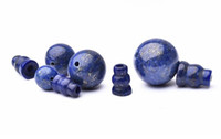 Wholesale 12mm lapis beads for sale - Group buy cheap Tibetan mala Lapis Guru bead mm mm mm for meditation