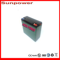Wholesale 12v Lifepo4 - Free to RU Deep cycle 12V 20Ah LiFePo4 Battery Pack For Sola Street Lighting   Lithium iron Phosphate battery   Electric Bicycle