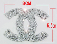 Wholesale Wholesale Iron Rhinestone Appliques - Free ship Iron-on motif pointback rhinestone hotfix patches heat transfer fabric strass applique for clothing shoe bags crafts