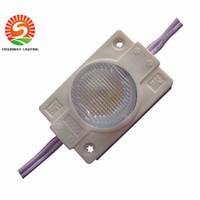 lente led de alta potencia al por mayor-Módulos al aire libre IP65 de alta potencia de 2W LED Luz con lente DC12V Luz lateral para letrero LED Caja de luz Letras de canal 2 años de garantía