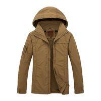 Wholesale Hard Shell Jacket - Army Gear Waterproof Hard Shell Military Jacket Men Spring Camo Hooded Tactical Jacket Thin Windbreaker Coat Waterproof Clothes