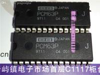j hifi venda por atacado-PCM63P. PCM63P-J, PCM63PJ. linha 20 conversor digital único, pacote de plástico dip de 28 pinos em linha dupla / PCM63. PDIP28 / hifi audio ic