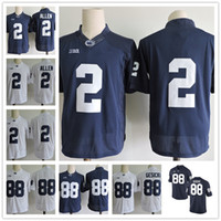 Wholesale Navy Kids Shorts - Penn State Nittany Lions 88 Mike Gesicki 2 Marcus Allen 26 9 No Name Navy Blue White Stitched Mens Womens Kids College Football Jerseys