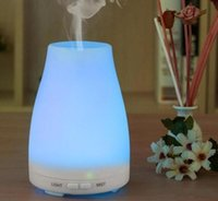 Wholesale New High Quality ml Color LED Humidifier diffuser for aromatherapy diffuser ultrasonic essential oil diffuser DHL