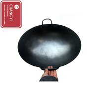 2.3kg)2.6kg)2.9kg) black iron cooking - cookware is suitable for the Chinese style western style kitchen cooking frying pan cookware kitchen Handmade iron pan black