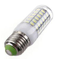 Wholesale E14 Pure White Bulb - LED lightbulb E27 E14 Cool White Pure white LED Corn Bulbs 220V or 110V 7.5W 69LED