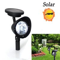 Wholesale Lawn Spot - 3-LED Solar Yard Garden Lamp Spot Light White For Outdoor Lawn Landscape Path