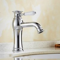 Wholesale Faucet Handle Replacement - Cheap Wholesale ! kitchen sink faucets With Pure Brass chrome One Handle One Hole   Your Choice For Kitchen Sink Faucet Replacement HS323