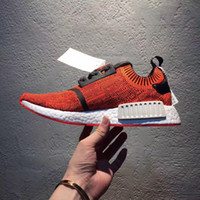 Wholesale Run Nyc - 2017 With Box NMD R1 NYC RED APPLE Men'S Running Shoes Fashion Running Sneakers for Men and Women mastermind japan MMJ