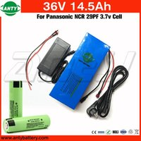Wholesale 36v Battery For Bicycle - Bicycle Battery 36v 14.5Ah 800w for Panasonic 2900mAh 18650 Cell with 2A Charger 30A BMS Electric Bike Battery 36v Free Shipping