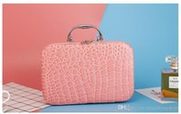 Wholesale 2017 Korean style woman designer cosmetic bags and cases for bridesmaid makeup sorting bag travel toiletry bag