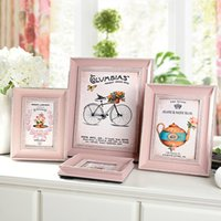 4/6/7/10 polegadas Cute Pink Family Frame Wall Art PS Photo Frame Frame Core Frame Lovely Home Decor 1pcs / lot