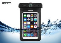 Wholesale Iphone Wallet Lanyard - Waterproof Pouch for iphone 6 7 plus MARSEE Universal Dry bag with COMPASS LANYARD Best WaterProof Dustproof Snowproof phone Case