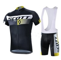 Wholesale Ktm Short - Men cycling jersey 2016 team scott cycling clothing sets maillot ciclismo Short Sleeves KTM Ropa ciclismo MTB Cycling Jersey+BIB Shorts