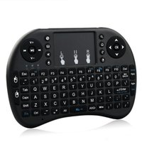 RII L8  Wholesale Rii I8 Smart Fly Air Mouse Remote Backlight 2.4GHz Wireless Bluetooth Keyboard Remote Control Touchpad For Android Box MX3 M8S