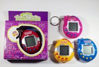Wholesale Arcade Game Toys - High Quality Funny Vintage Retro Game 49 Pets In One Virtual Pet Cyber Toy Tamagotchi Digital Pet Child Toy Random Retro Game Kids