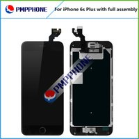 Wholesale Display Iphone Home - A+++quality for iphone 6s plus LCD display touch screen with Frame and Front Camera and Home Button Full Assembly Replacement free shipping