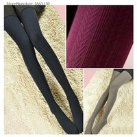 Wholesale Cheap Nylon Tights - Wholesale- 140D Autumn Winter Nylon Stocking High Quality Lolita Printed Tights Cheap Designer Wheat Pattern Women Pantyhose