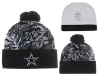 Wholesale 2017 fashion style beanie knitted wool hat COWBOYS Team sports hat men women Skull Cap DALLAS Beanie free shiipping