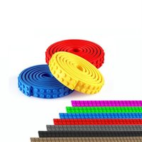 Wholesale Nimuno Loops Building Blocks DIY Baseplate x32 cm Dots Small Plastic Tape Blocks Base Plate no Sticky Backing
