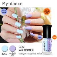 Wholesale mood changing gel nail polish resale online - Magic My Dance Nail Gel Light Change Nail Mood Color UV Polish ml Gel For Nail Soak Off Gel Polish