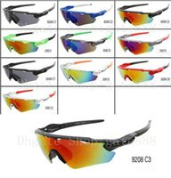 Wholesale popular bicycle - 2017 Special Price New Style Popular men's women's sunglasses outdoor Bicycle sport Glass 10color Can choose.