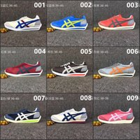Wholesale Tennis Shoes For Cheap - 2017 Wholesale New Style Asics Onitsuka Tiger Running Shoes For Men Women Simple Style Cheap Sport Shoes Sneakers Eur36-44 Free Shipping