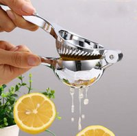 Wholesale Mini Hand Juicer - Manual Juice Extractor Household Lemon Squeeze Juice Stainless Steel Mini Orange Juice Extractor Squeezer Reamers Manual Press