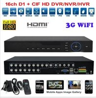 Wholesale 16 Channel Network Video Recorder - 4ch 8ch 16 Channel AHD DVR Network 1080P 960H Motion Detection Audio Alarm NVR DVR CCTV Surveillance Security System Digital Video Recorder
