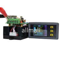 dc panel ampermetre toptan satış-Freeshipping DC 100 V 50A Kablosuz Dijital LCD Ekran Dijital Akım Voltmetre Ampermetre Güç Enerji Multimetre Panel Tester Metre Monitör