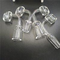 Wholesale Female Images - Quartz Bangers Nail Image Glass Banger Male Female honey glass bucket glass bowl Joint 14.4 mm and 18.8 mm