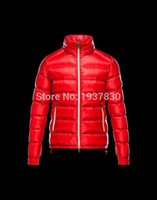 Wholesale Red Jacket Ship - Hot Sale Man Down Jackets Fashion top quality Red Men's Down Coat Winter Coat Jacket Skiing Men Down Parka Free Shipping Size:XS-XXXL