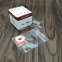 Wholesale Seals Baby - Vapesoon Replacement Glass Tube for Smok Tfv8   Tfv8 baby   Tfv8 big baby Atomizer Silicone Seal o ring Kit Atomizer
