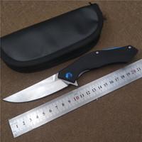 ingrosso coltelli pieghevoli-Coltelli a lama D2 KESIWO Blue Moon Coltello pieghevole Coltello da sopravvivenza tattico all'aperto Utilità Campeggio Utensile manuale con borsa in pelle di alta qualità