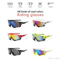 Wholesale High Quality Fashion Sports Sunglasses Polarized Women Men Interchangeable Lens Jawbreaker Cycling Eyewear With Box