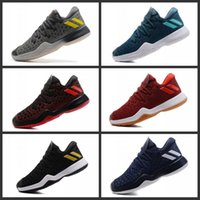 Wholesale Competitive Sports - James Harden 2.0 Men's Basketball Shoes Wolf Grey 2017 Best Quality Competitive Sports Sneakers Training Boost US 7-12 Free Shipping