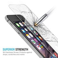 Wholesale Iphone 4s Front Glass Tools - Tempered Glass Screen Protector For Alppe iPhone 4S 5 6Plus 7 Plus Samsung Note 5 S5 6 S7 Protective Film+Tools with retail package Free DHL